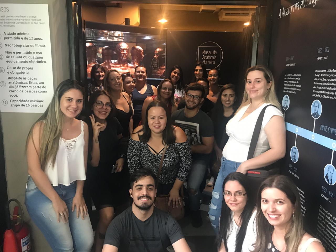 Alunos FIMI visitam o Museu de Anatomia da USP e o Museu do Crime da Polícia Civil de São Paulo
