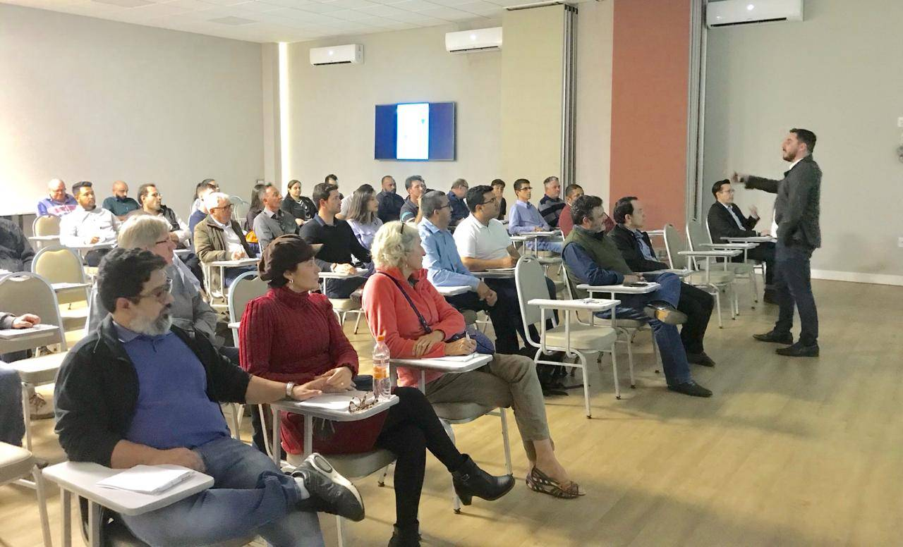 Segurança do Trabalho: Alunos de pós-graduação da Fimi  participam de palestra em Mogi