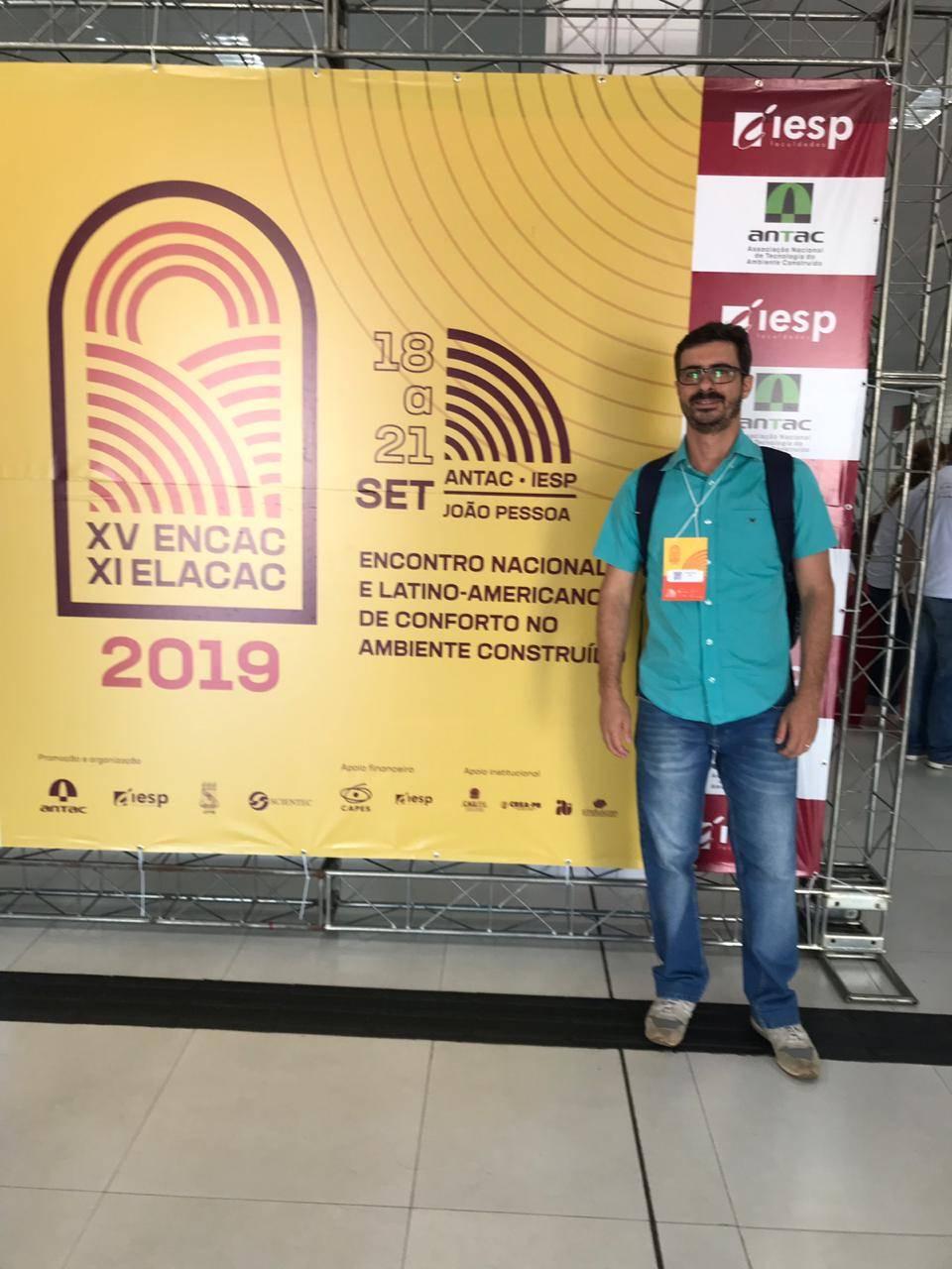 Professor de Arquitetura apresenta artigo em congresso na Paraíba