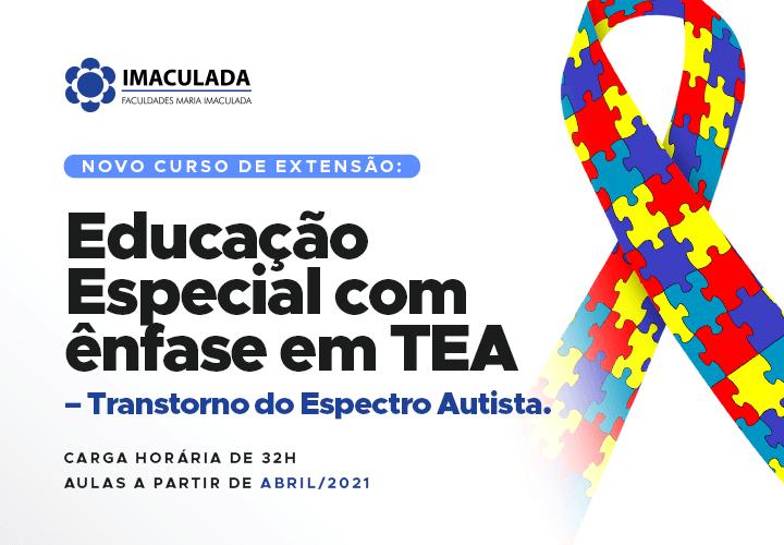 Educação Especial com ênfase em TEA – Transtorno do Espectro Autista é o novo Curso de Extensão da FIMI!
