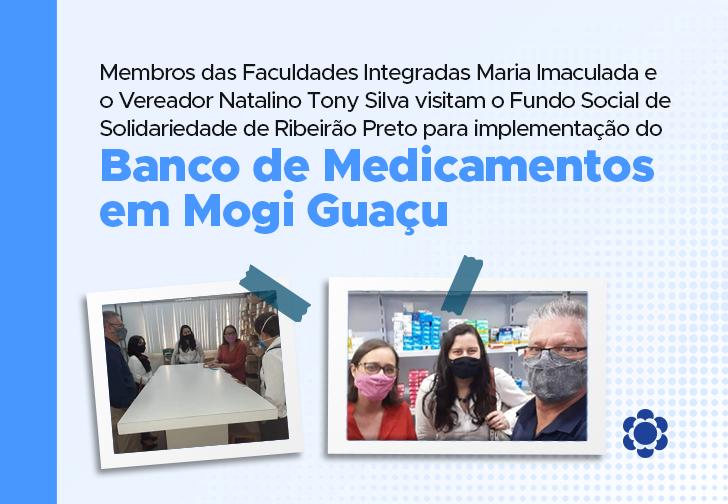 Comitiva de Mogi Guaçu conhece o Fundo Social de Solidariedade de Ribeirão Preto para implantação do projeto de Banco de Medicamentos!