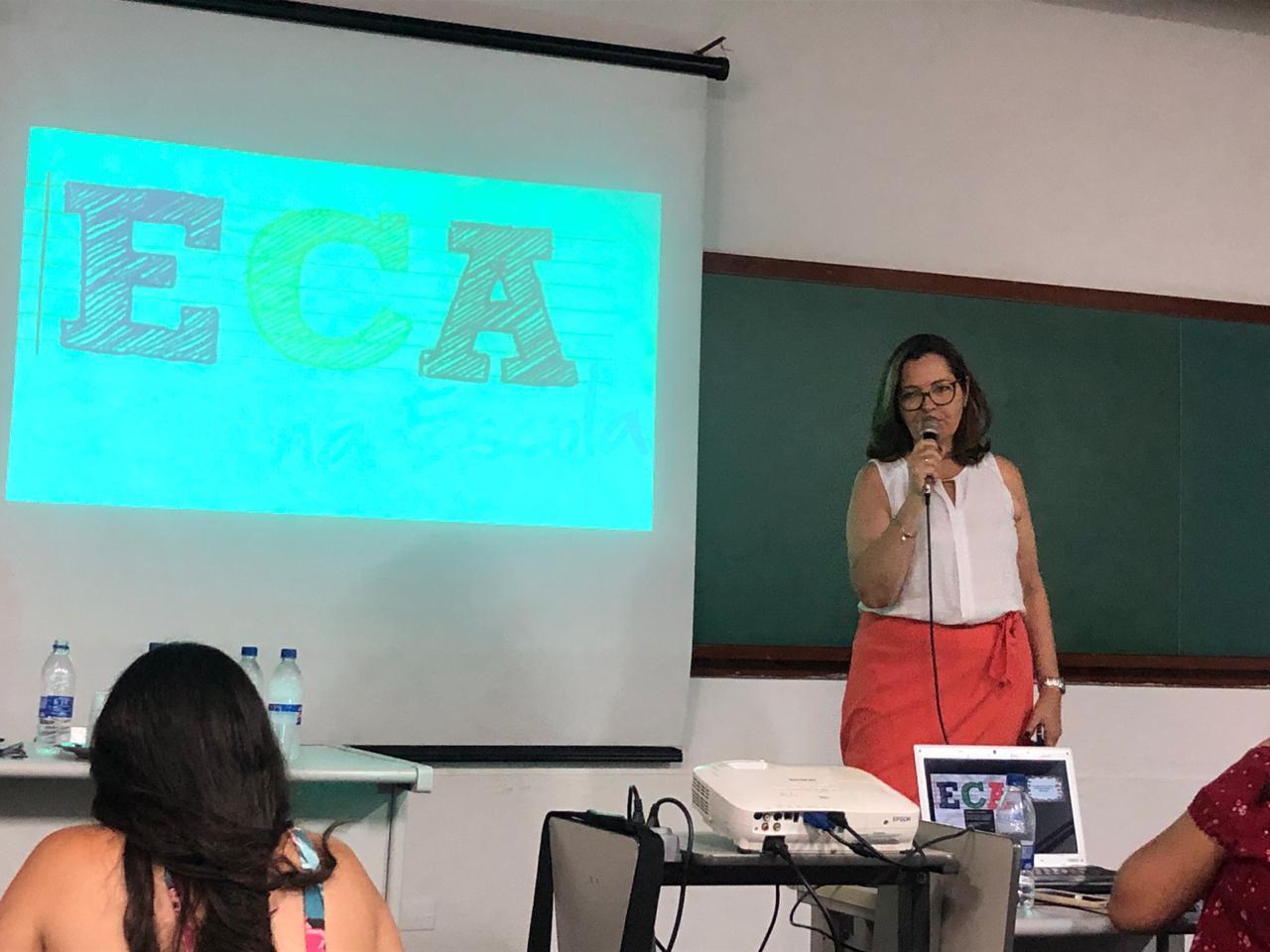 Fimi realiza palestra sobre o Estatuto da Criança e Adolescente