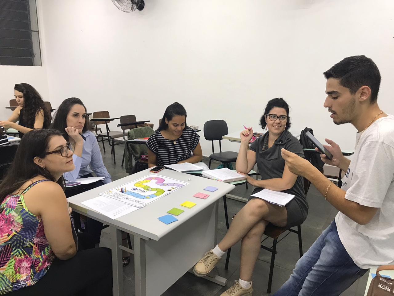 Professores da FIMI utilizam jogos educacionais para facilitar o aprendizado dos alunos