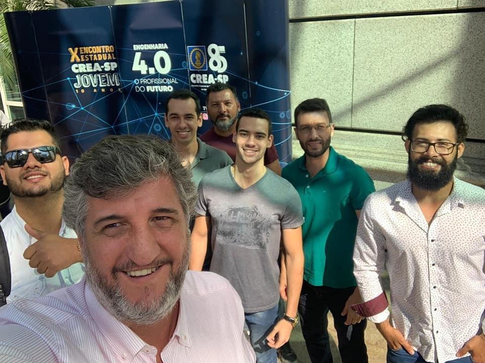 Alunos de Engenharia Civil participam do X Encontro Estadual CREA-SP Jovem
