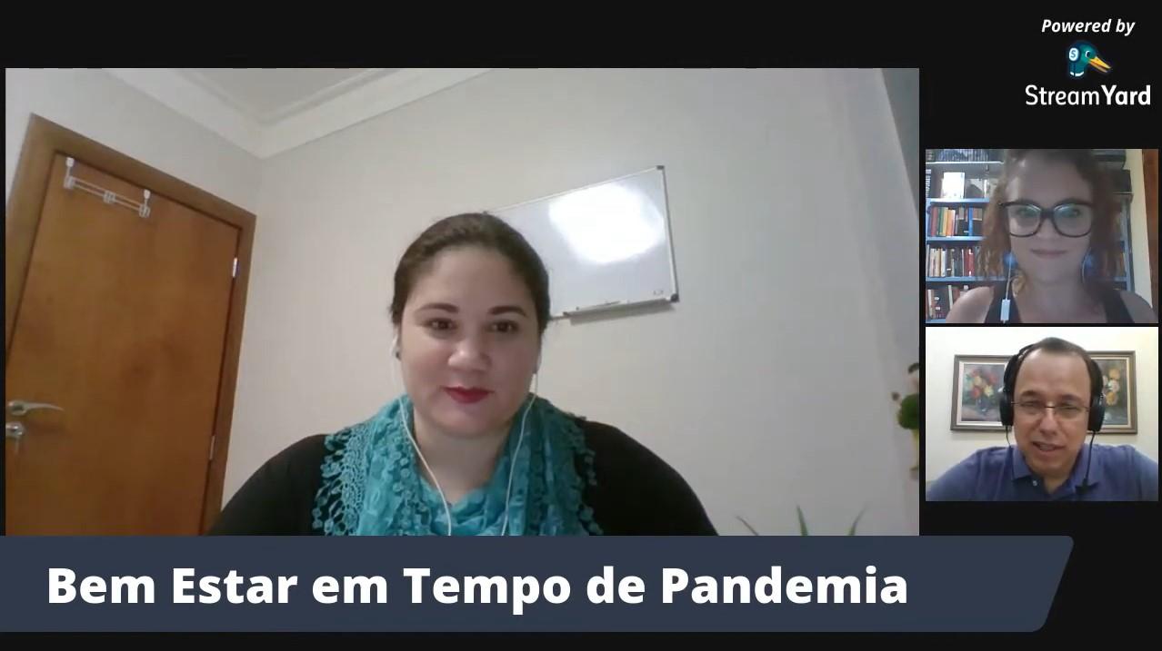 Live sobre bem estar e saúde mental durante a pandemia é promovida pela FIMI